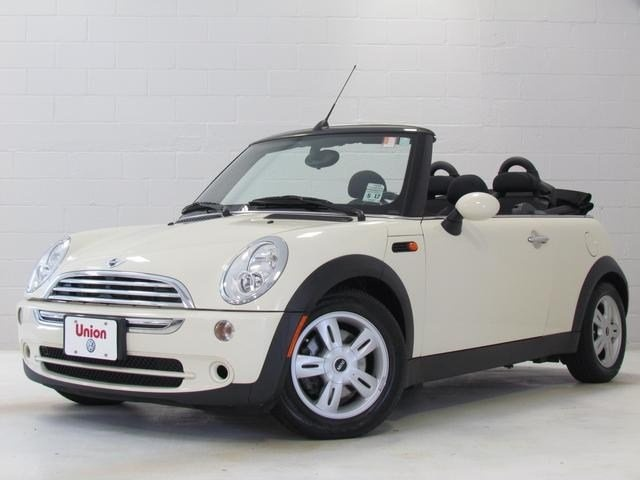 2008 Pepper White MINI Cooper Convertible Base for Sale http://www.iseecars.com/used-cars/used-mini-cooper-convertible-for-sale