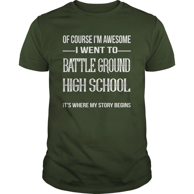 Battle Ground High School T-Shirts, Hoodies. BUY IT NOW ==► https://www.sunfrog.com/Automotive/Battle-Ground-High-School-Forest-Guys.html?41382