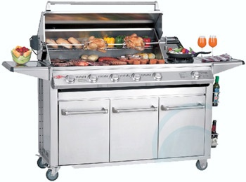 The Beefeater BBQ SL40006/LPG  - Appliances Online #BBQ #appliancesonline