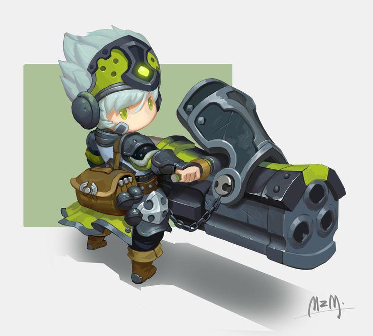 little sniper, M ZM on ArtStation at https://www.artstation.com/artwork/little-sniper