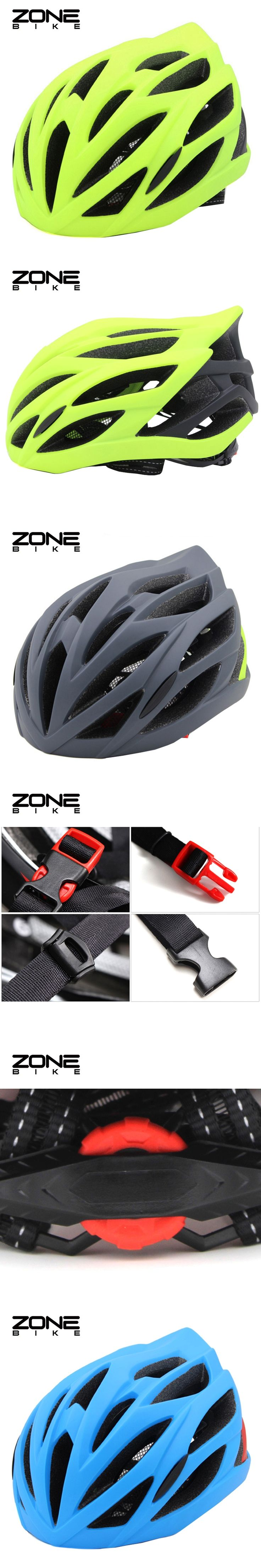 ZONEBIKE Integrally-molded Casco Ciclismo Mtb Road Cycling Bicycle Capacete Bike Helmet Casque Velo Route EPS Bisiklet Kask