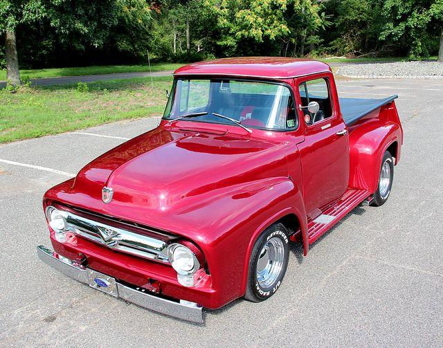 sweet 56 f100 hot rod truck