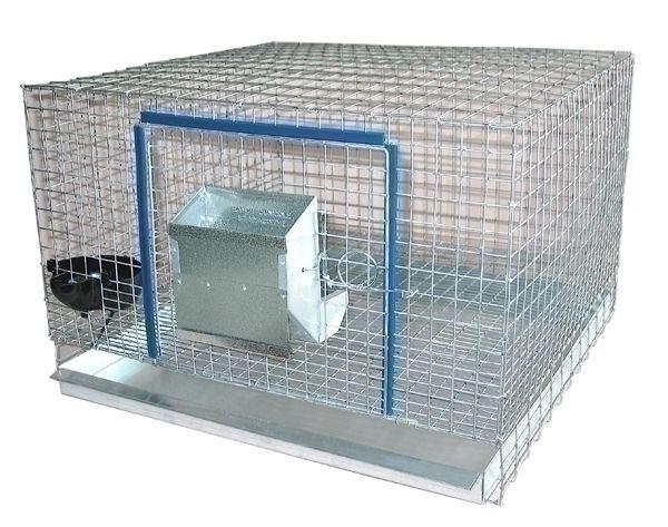 CAGE A LAPIN AVEC TIROIR | Code BMR :019-8615