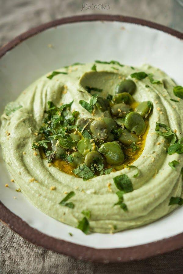 jadłonomia • roślinne przepisy: Hummus z bobu