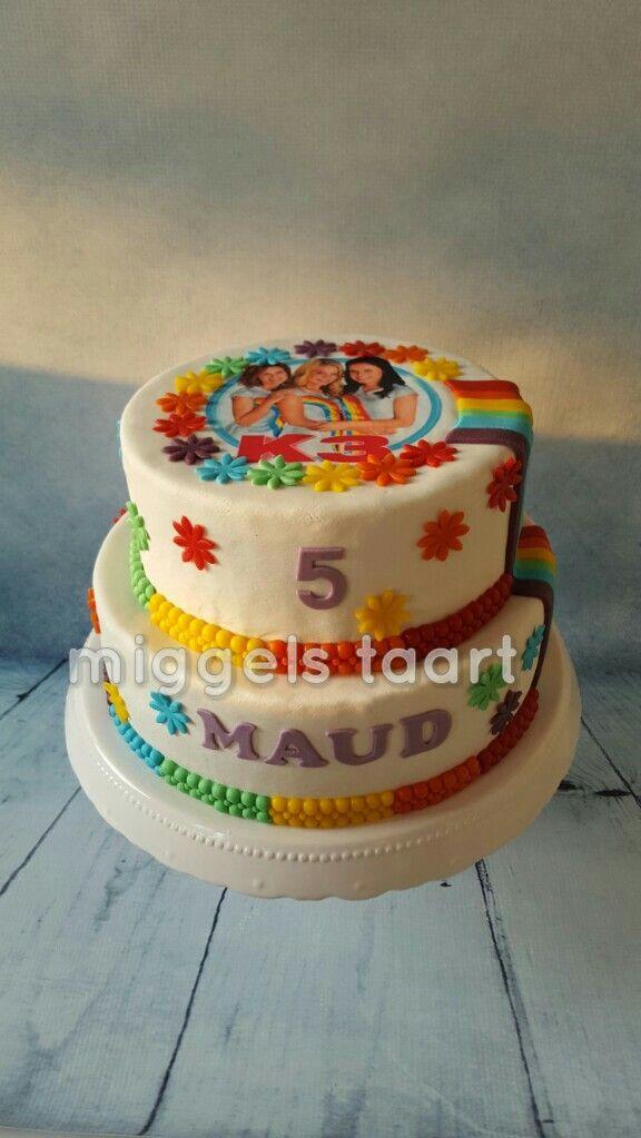 K3 taart/ K3 cake