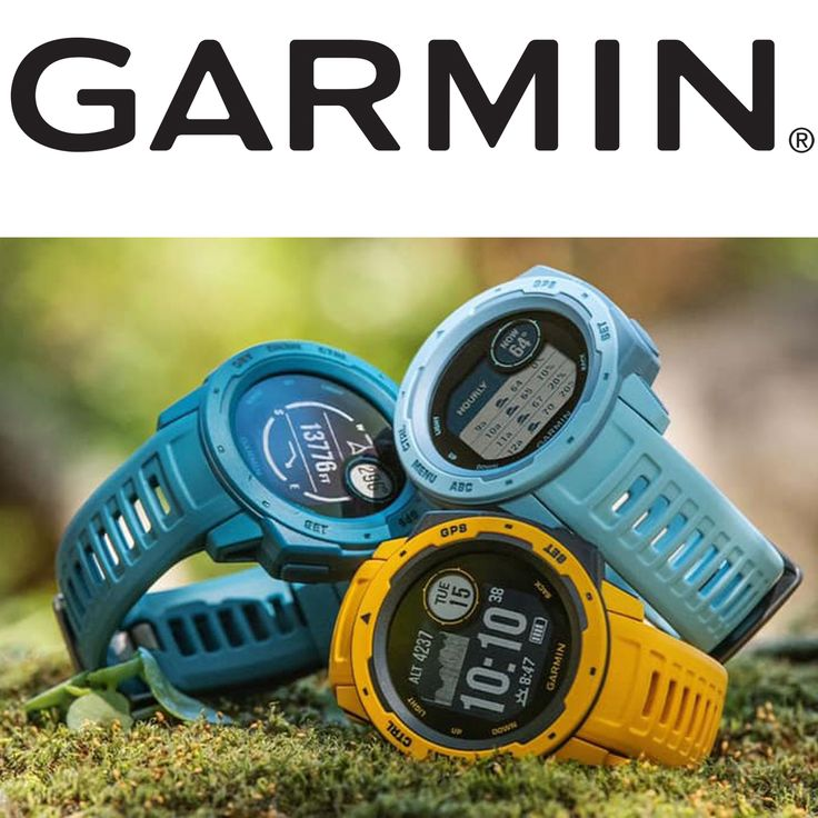 Garmin Instinct Tough GPS Watch. When you can rely on