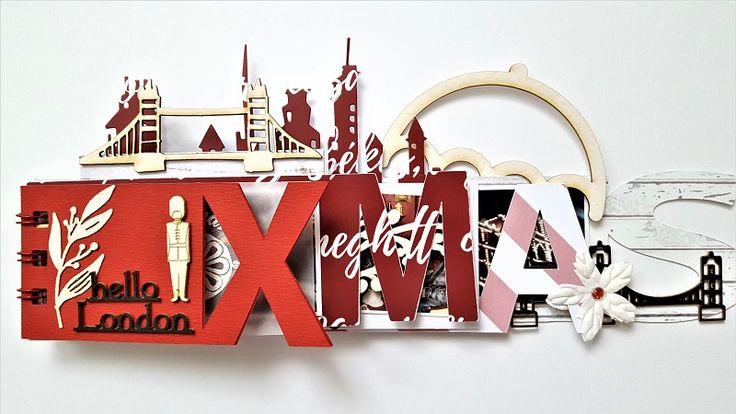 London Xmas-minialbum by Krisztina Reidl