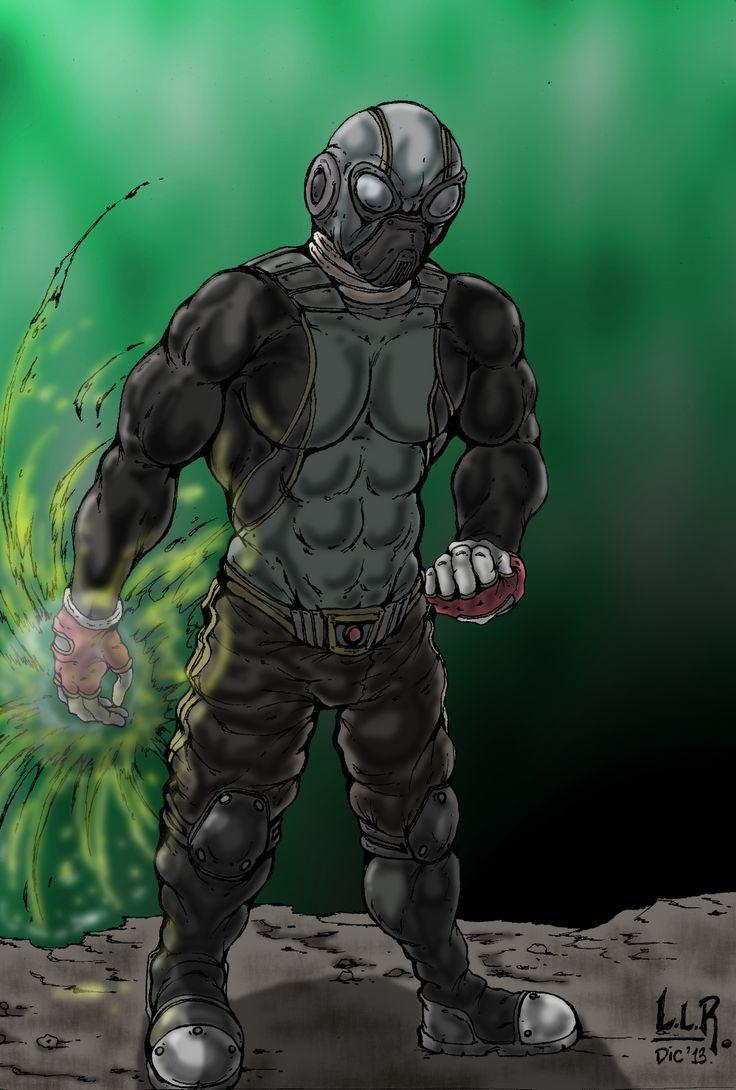 """""""MAGNATE""""  Personaje para un comic basado en una idea original de Gastón Sanchez. Ilustración en hoja 17 x 25 cms. - lápiz 2B - estilógrafo 0.1 - color digital con GIMP 2.8 + Wacom Bamboo Connect."""