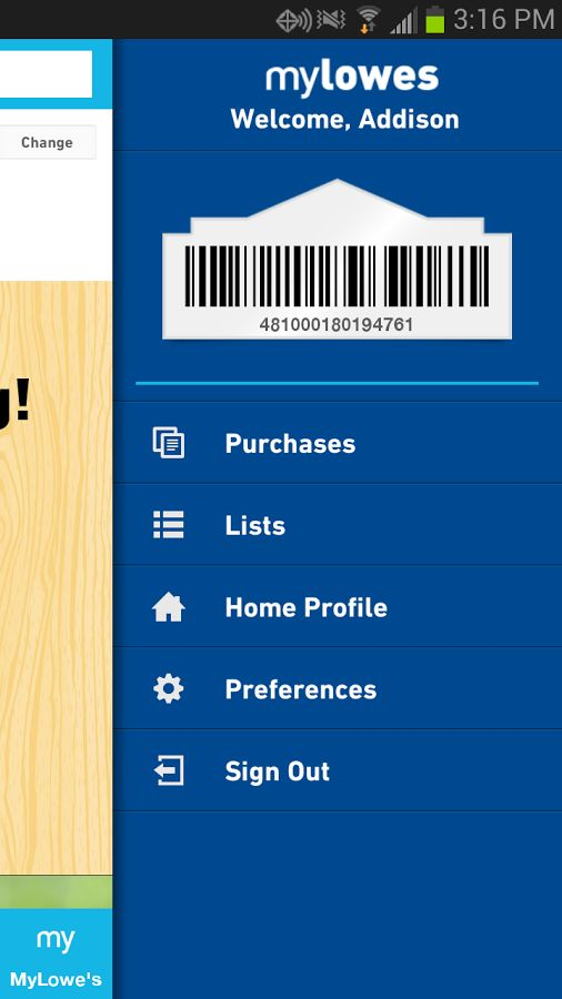 Lowe's App. [Type in the store's location, and the item you want. It'll tell you what aisle to find it in!-K.R]