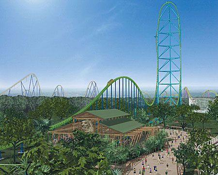 Kingda Ka! Fastest/tallest roller coaster