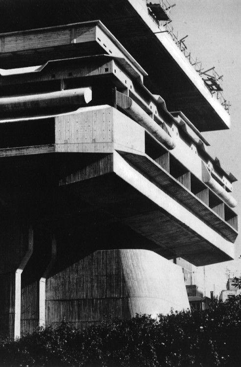 Biblioteca Nacional de la República, Buenos Aires, Argentina, 1962-1995 (Clorindo Testa w/ Francisco Bullrich & Alicia Cazzaniga de Bullrich