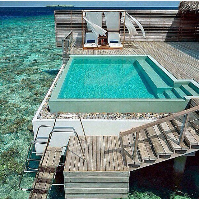 588 best Piscines paysages images on Pinterest Dream pools, Houses - piscine en bloc a bancher