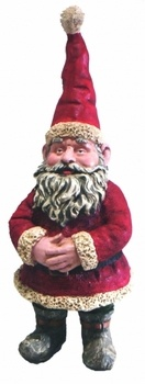 Santa Clause Garden Gnome - Click to enlarge