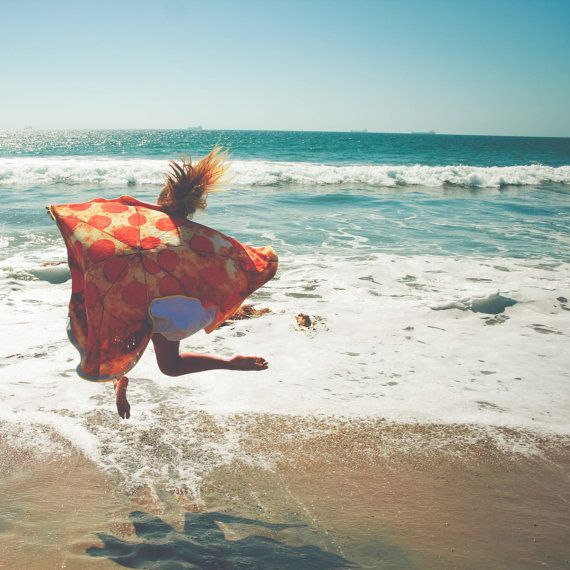 Best friend gift, Pizza Towel, Round Beach Towel, Pizza Lover Round Beach Towel, Beach wear, Large Beach Towel