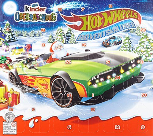 kinder berraschung hot wheels adventskalender jungen 1er pack 1 x 480 g adventskalender. Black Bedroom Furniture Sets. Home Design Ideas