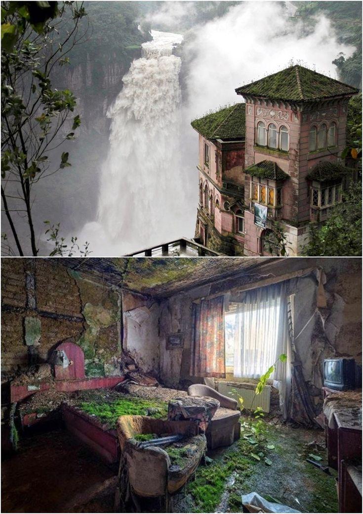15 dos lugares abandonados mais intrigantes que existem. Hotel del Salto, em Soacha, na Colômbia