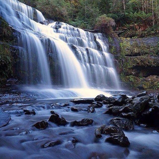 The beautiful Liffey falls