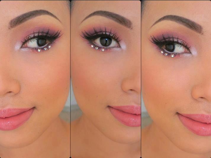 Maquillage Yeux Rose Et Noir : Meilleur Couleur 2014