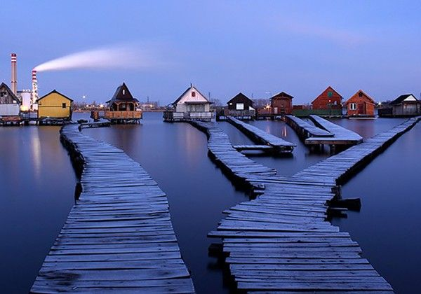 This Spectacular Hungarian Floating Village on Stilts is a Place You Have to See