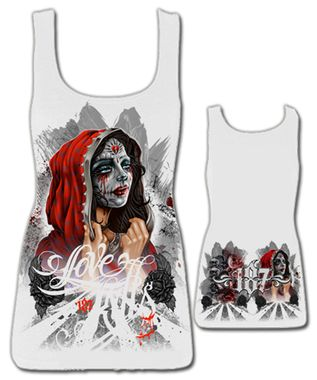 LOVE KILLS  $A30.00 ( WAS $A45.00) SIZES: S-XL http://www.barrioessencez.com.au/love-kills-white/