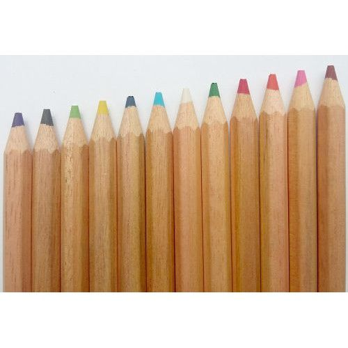 12 darabos vastag, hatszögletű, natúr színes ceruza készlet Jumbo - Színes ceruzák - 1,149Ft - Írószer