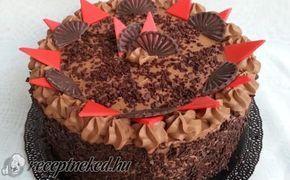 Trüffel torta recept fotóval