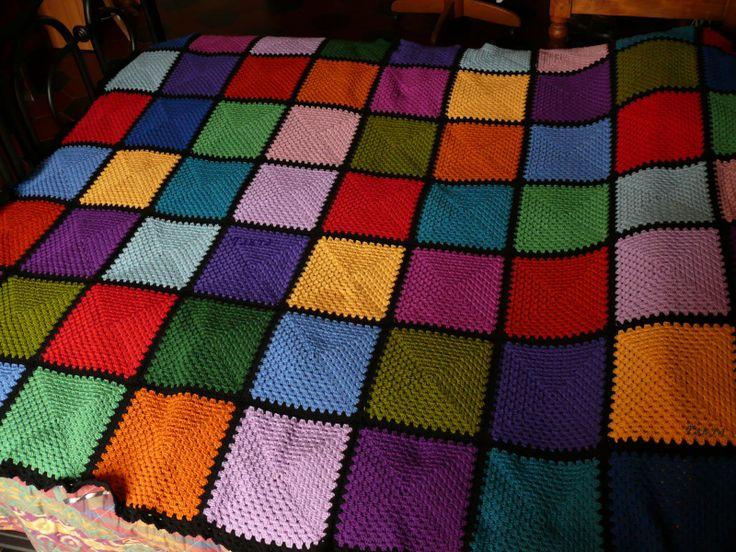 17 migliori immagini su coperte all 39 uncinetto su pinterest for Disegni di coperta inclusi