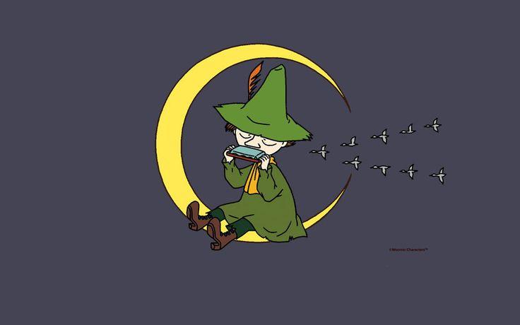 Snufkin moon