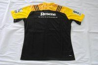 Yellow 2016 Hurricanes Replica Rugby Shirt [F334]