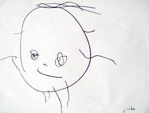Evolutie van de kindertekening: 2-3 jaar