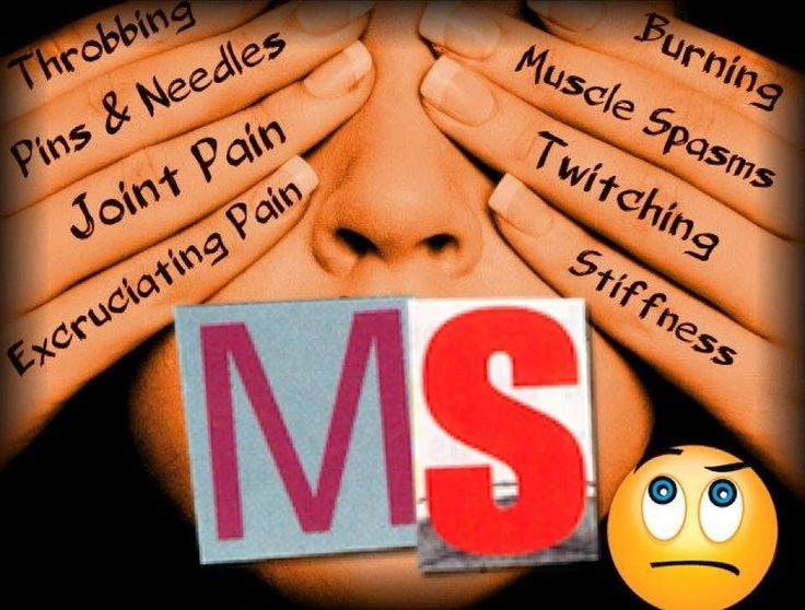MS Multiple Sclerosis symptoms