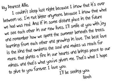 The Notebook Quotes 23 Best The Notebook Quotes Images On Pinterest  Film Quotes