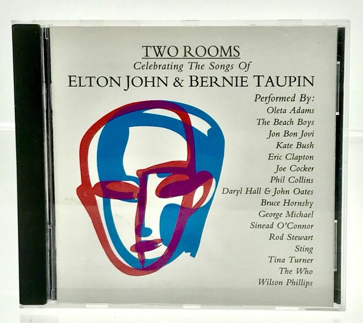Two Rooms CD Celebrating the songs of Elton John & Bernie Taupin Various Artists