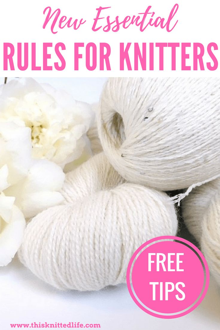 From the hilarious This Knitted Life. Essential tips to get your inner knit on that will make you smile. While knitting is a lawless land, these guidelines are sure to set your needles in the right direction.