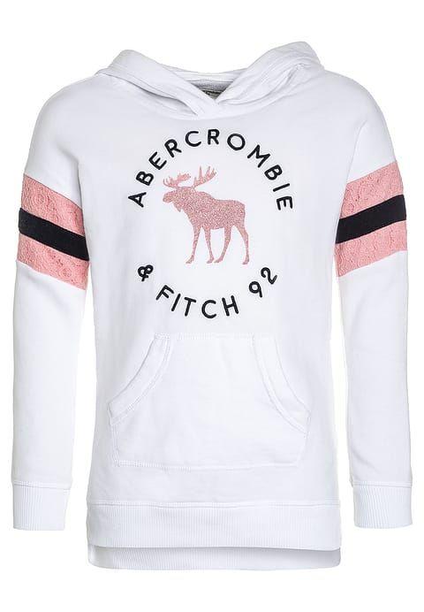 Truien Abercrombie & Fitch FASHION VINTAGE GYM - Hoodie - white wit: € 31,95 Bij Zalando (op 19-7-17). Gratis bezorging & retour, snelle levering en veilig betalen!