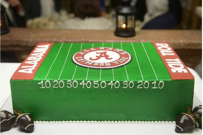 Alabama grooms cake roll tide