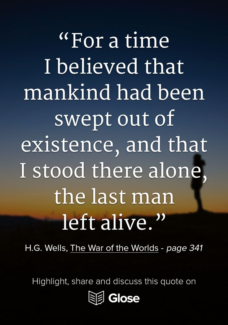war of the worlds novel essay The war of the worlds is a science fiction novel by english author h g wells first serialised in 1897 by  wells also wrote an essay titled.