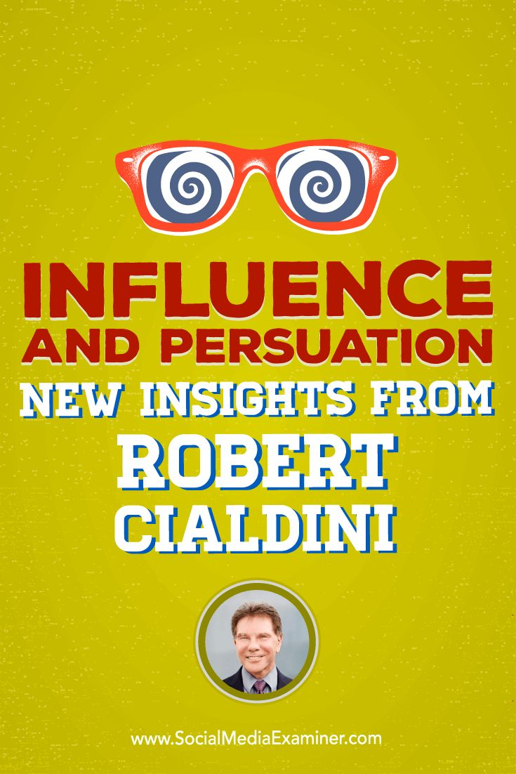 Do you want to persuade more people to become customers?  Wondering what the latest science on influence and persuasion has to say?  To discover new ways to prepare people for a sale, Mike Stelzner interviews Dr. Robert Cialdini (@robertcialdini), author of Influence and Pre-Suasion. Via @smexaminer.