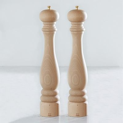 Peugeot Paris U Select Natural Salt & Pepper Mills Set, 16""