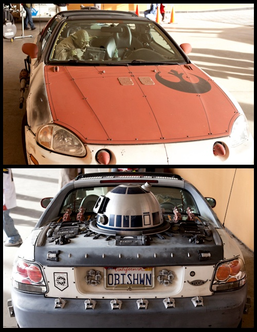Jedi Car at Anime LA via