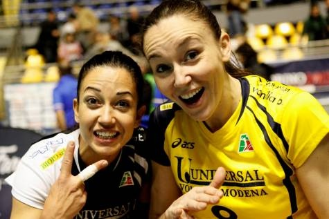 Paola Croce e Jenny Barazza - giocatrici pallavolo in Italia - italian volleyball players #Volley People