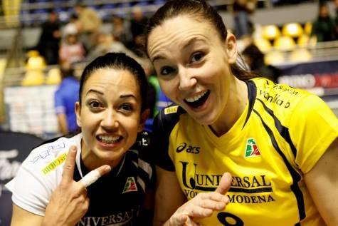 Paola Croce e Jenny Barazza - giocatrici pallavolo in Italia - italian volleyball players #Volley People
