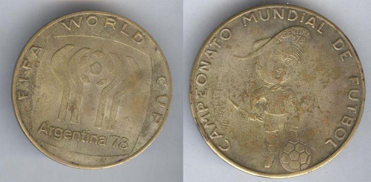 Campeonato Mundial Futbol FIFA World Cup Argentina 1978 Football Soccer  medal    eBay