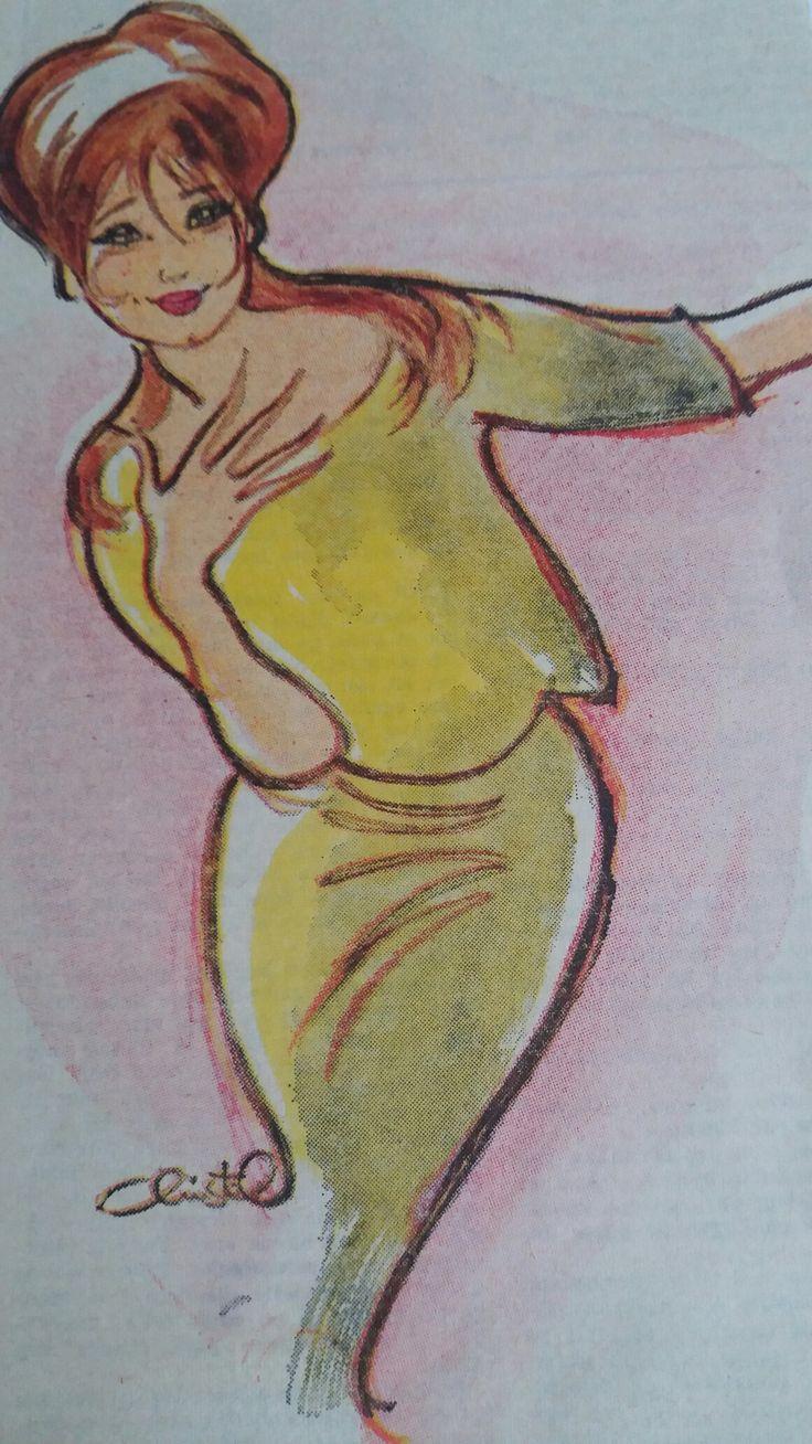 Christel tegning