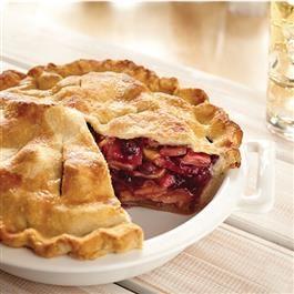 All-American Apple Blueberry Pie