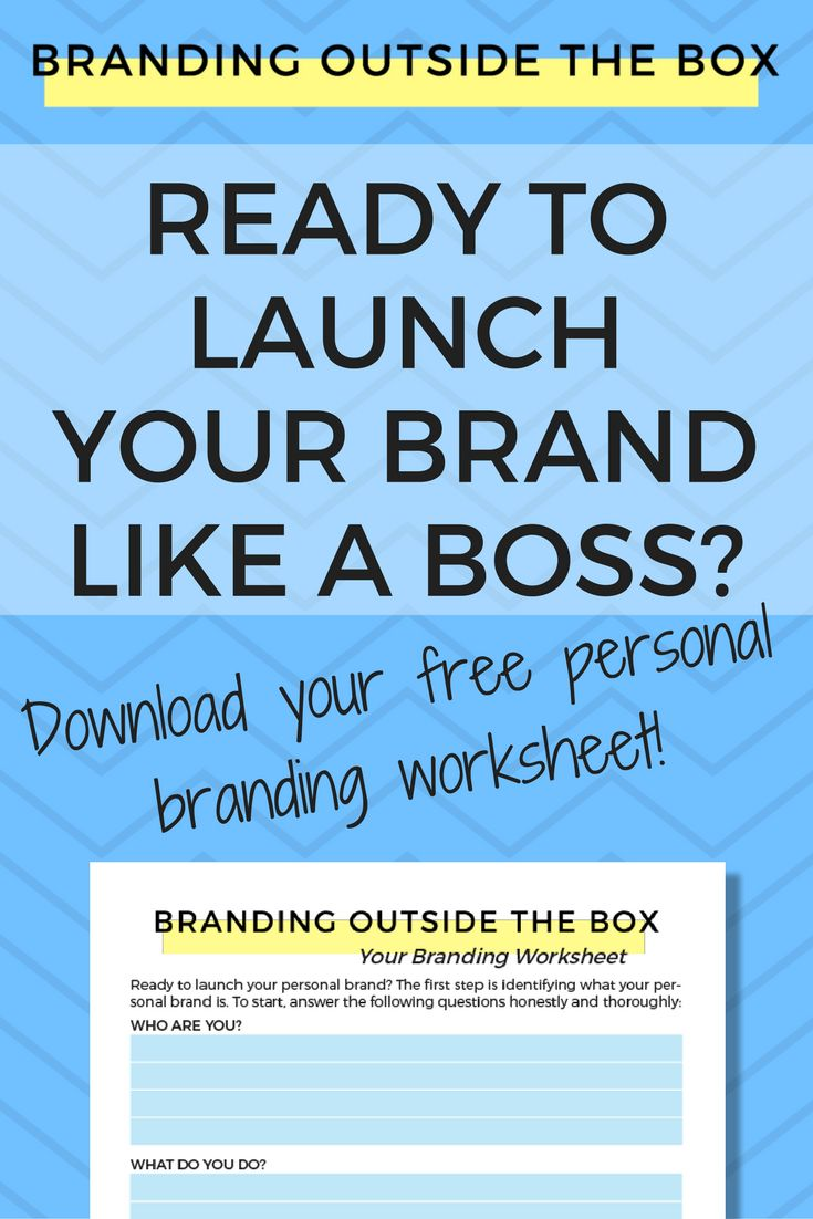 Learn how to identify your personal brand and download your free branding worksheet, which will take you through the process.