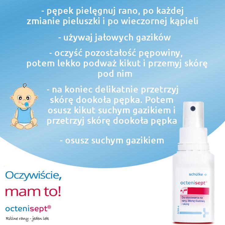 Pamiętajcie, że prawidłowa pielęgnacja pępka noworodka jest bardzo ważna! Czy na pewno wiesz jak to robić prawidłowo? Dowiedz się więcej na: www.oczywisciemamto.pl/poradnik
