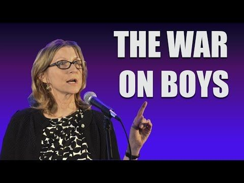 Christina Hoff Sommers: The War on Boys - YouTube