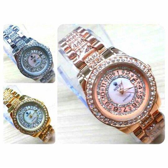 Jam Tangan Rolex IDR 210k/1 pcs
