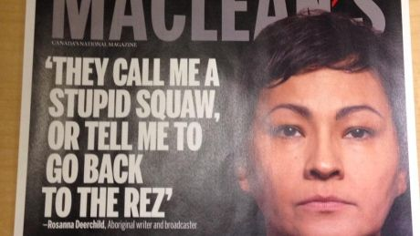 Rosanna Deerchild reacts to Maclean's racism article after appearing on cover 'I am far from the angry Indian complaining about being hard done by,' CBC radio host saysAfter appearing on the cover of a Maclean's issue that called Winnipeg the most racist city in Canada, Rosanna Deerchild, the host of the CBC Radio show Unreserved, says the city is far from the place described in the news magazine.